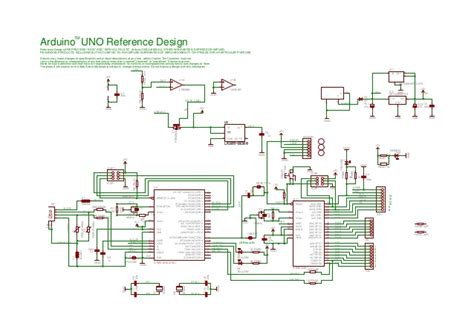 Arduino Uno Circuit Diagram Pdf by Arduino Uno Schematic Reference Design