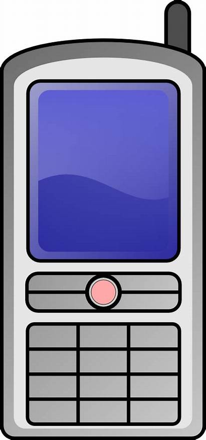 Phone Clip Clipart Mobile Cell Handy Cliparts