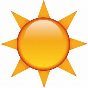 Download The Sun Emoji   Emoji Island