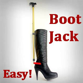 Boat Horn Removal by Easy Boot Take Leather Puller Remover