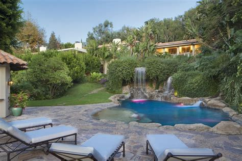 mark wahlbergs house  beverly hills popsugar home