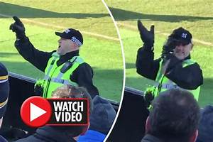 Leeds United news: Policeman sings along with travelling ...