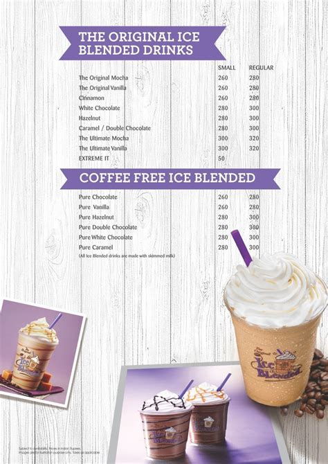 The problem is not that we don't call coffee 'tea'. Menu of The Coffee Bean & Tea Leaf, MG Road, Bangalore - magicpin