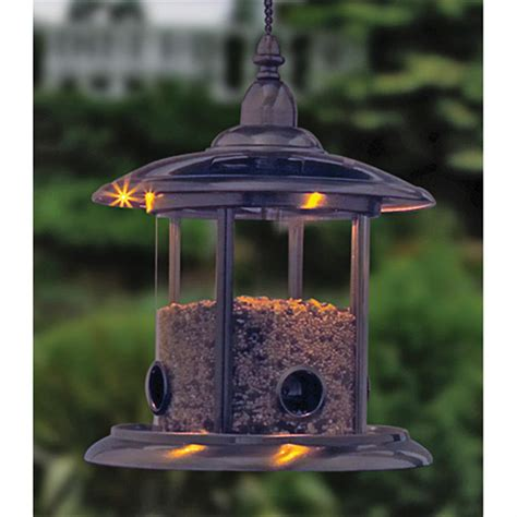 solar bird feeder 117712 bird houses feeders at
