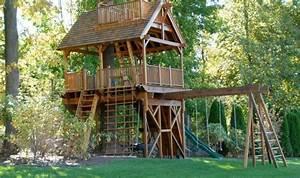La Cabane En Bois Pour Enfant Ides De Dco Originales