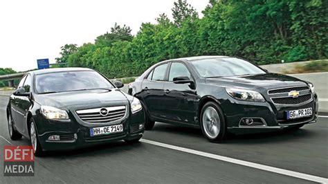 Opel Automobile by Automobile Opel Et Chevrolet Disparaissent Du March 233