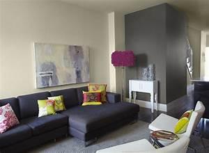 peinture salon et chambre quelles couleurs pour quelle piece With peinture salon 2 couleurs