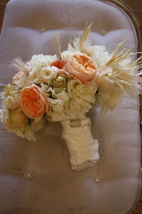 Bridal Bouquet Design Great Gatsby Photo Shoot For