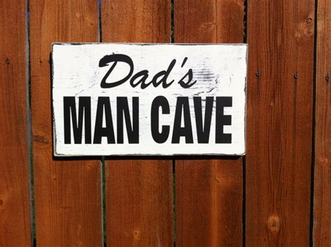 gifts for garage cave s cave sign gifts for rustic wood sign by