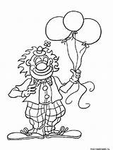 Clown Coloring Pages sketch template