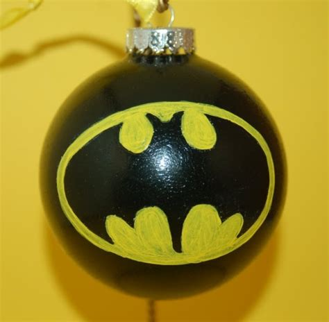 batman ornament christmas traditions pinterest