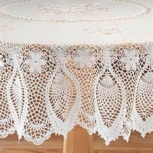 vinyl lace tablecloths vinyl lace tablecloth view 3