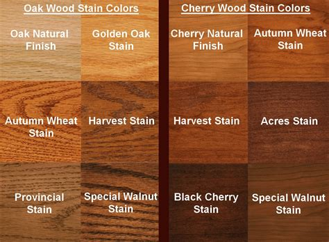 oak color your choice of the following wood species and