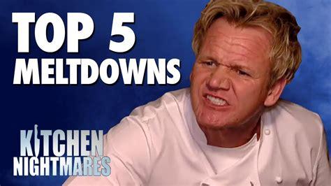 Gordon Ramsay's Top 5 Meltdowns!  Kitchen Nightmares Doovi