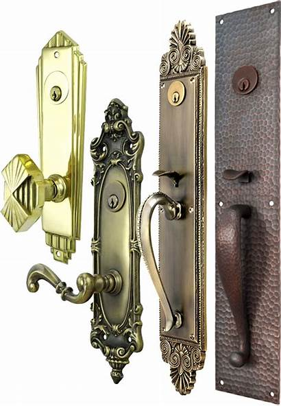 Door Antique Lock Handles Knobs Locks Entry