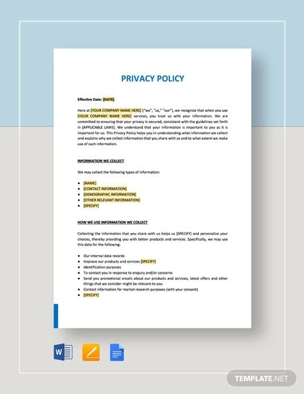workplace privacy policy  privacy  employee
