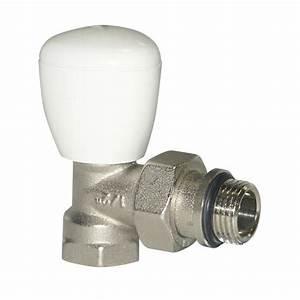 Tete De Robinet Radiateur : robinet de radiateur simple r glage querre equerre ~ Dailycaller-alerts.com Idées de Décoration