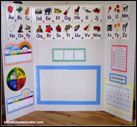 circle time for the mobile classroom for shared teaching 474 | Calendar Time Full View