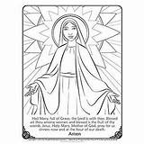 Catholic Mary Coloring Pages Assumption Printable Feast Sheets Printables Church Activities Sunday Lady Colour Crafts Religious Hope Enjoy Catechism sketch template