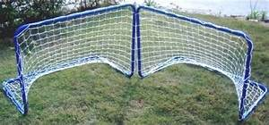 Cage Foot Enfant : set de 2 mini buts cages de football m tal 78 cm junior enfant ~ Teatrodelosmanantiales.com Idées de Décoration