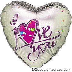 I love you Orkut Scraps, I love you comments, Glitter ...
