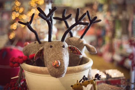 vintage christmas decorations at armstrong ward kendal cumbria