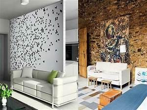 Wand Mit Fotos Gestalten : 76 bilder ausgefallene wandgestaltung ~ Orissabook.com Haus und Dekorationen