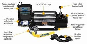 Superwinch 12 Volt Dc Powered Electric Truck Winch  U2014 8500
