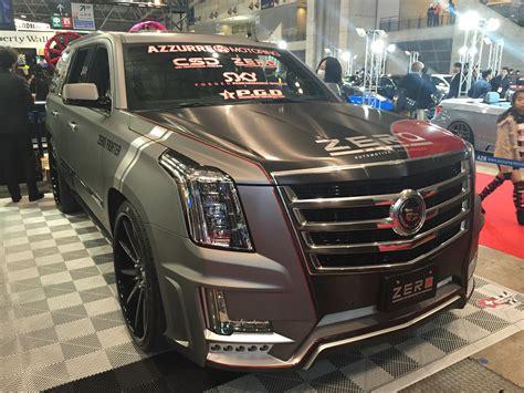 Filezero Design Cadillac Escalade Tokyo Auto Salon