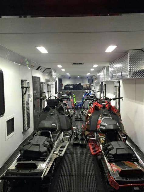 snowmobile trailers  sale open enclosed