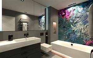 Tapeten Fürs Bad : wall and deco wet system tapeten f r luxusbadezimmer ~ Yasmunasinghe.com Haus und Dekorationen