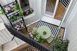 Kleinen Balkon Optimal Nutzen : ogr dek na balkonie taras i balkon styl nowoczesny aran acja i wystr j wn trz dom z pomys em ~ Bigdaddyawards.com Haus und Dekorationen