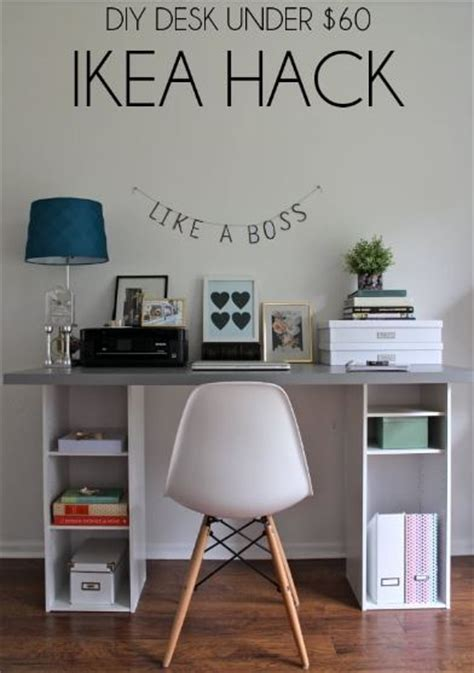 15 diy office desk you can build easily at home home and