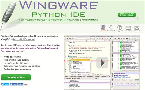 Best Python Editor 13 Best Ide And Editors For Python In 2018 Free Paid