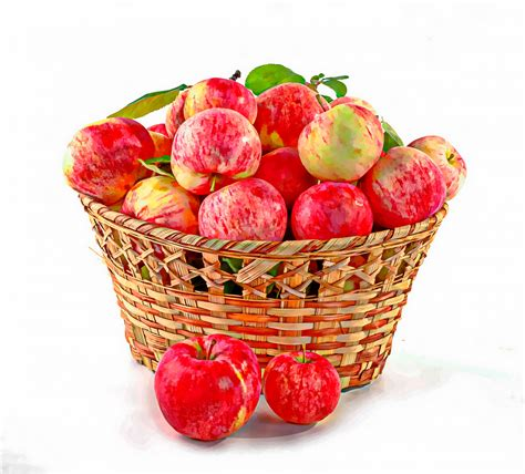 Basket Of Apples Free Stock Photo - Public Domain Pictures