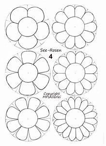 Blumen Basteln Vorlage : blume basteln wasser aufgeht blumen dekoration ideen ~ Frokenaadalensverden.com Haus und Dekorationen