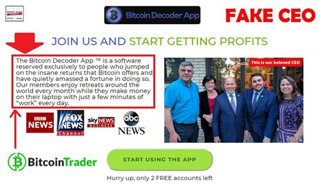 Buy & sell bitcoin with our trusted signals. Bitcoin Decoder App Review, Crypto SCAM | Binary Scam Alerts
