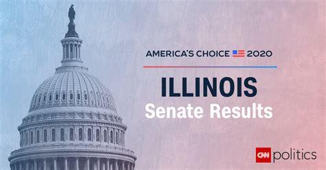 illinois senate election results  maps