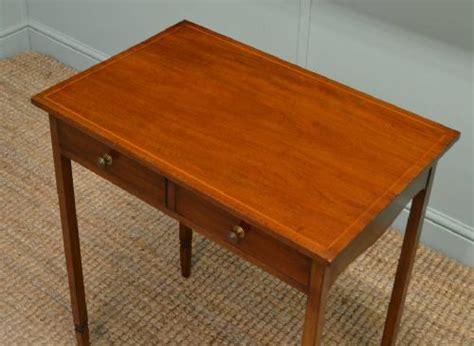 Edwardian Mahogany Small Antique Side Table / Telephone