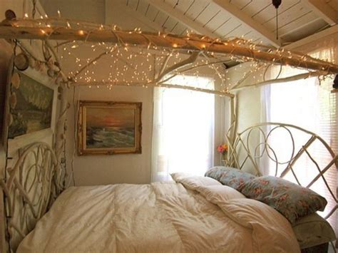 Lights For Bedroom : Country Bedroom Decorating Ideas, Bedroom Fairy Lights