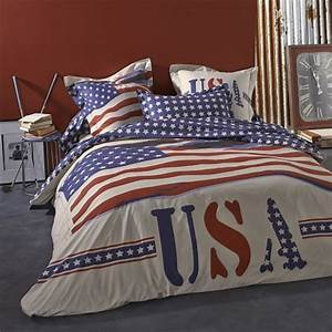 Housse de couette ado adolescent linge de lit housse for Tapis chambre ado avec parure housse de couette 220x240 coton