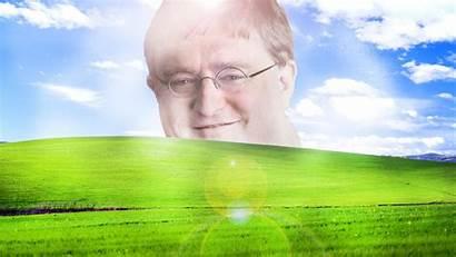 Meme Background 4k Gaben Lord Windows Xp