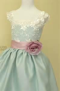 2016 lace applique a-line satin aqua flower girl dresses party kids girls frocks design us size 8 10 12 14