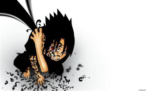 uchiha sasuke sharingan simple background anime boys