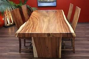 Esstisch kuchentisch 200x102x79 holz suar massiv for Küchentisch echtholz