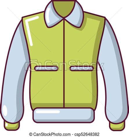 varsity jacket icon cartoon style varsity jacket icon