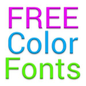 free lettering fonts color fonts for flipfont 1 android apps on play 21857