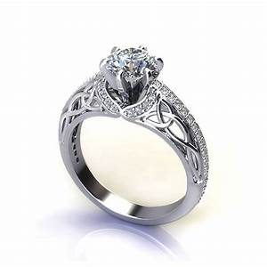 trinity knot engagement ring jewelry designs With trinity knot wedding rings