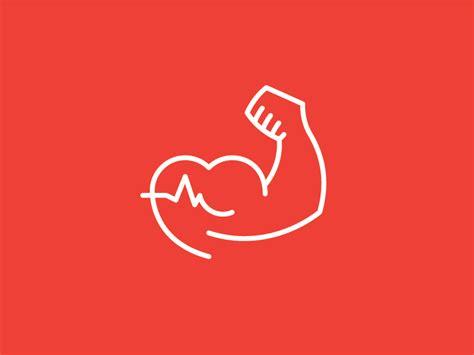Health Fitness Coach Logo Mark By Didi Medina