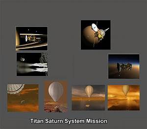 Titan Saturn System Mission (TSSM) in stereo 3D
